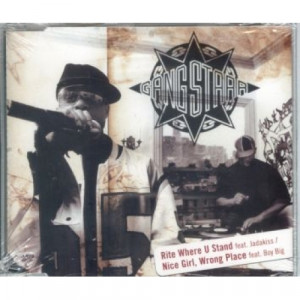Gang Starr - Rite Where U stand Nice Girl  Wrong place CDS - CD - Single