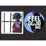 Gorillaz - Feel Good Inc EURO promo cd-s with De la Soul