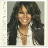 Janet Jackson - all nite ( dont stop) PROMO CDS
