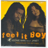 Janet Jackson - Beenie Man Fell it Boy 3 Track PROMO CDS