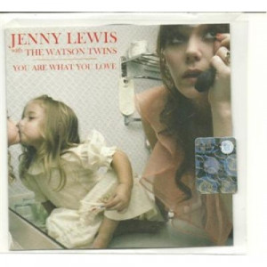 Jenny Lewis with the Watson Twins - you are what you love ACETATE CD - CD - CDr
