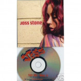 Joss Stone - Tell me bout it Euro promo 2 track PROMO CDS