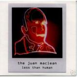 Juan Maclean - Less Than Human Euro promo CD