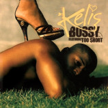 Kelis - Bossy featuring Too Short 5 Mixes PROMO CDS