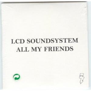 LCD Soundsystem - All My Friends 2 Tracks Euro PROMO CDS - CD - Album