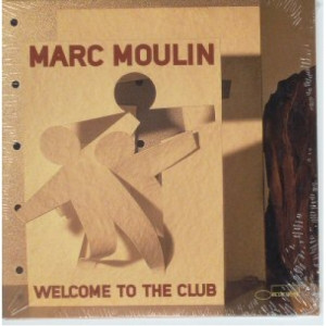 Marc Moulin - Welcome to the club PROMO CDS - CD - Album