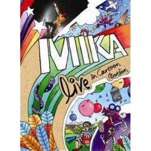 MIKA - Live In Cartoon Motion DVD - CD - Digi CD + DVD