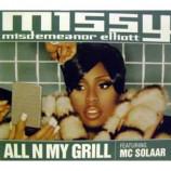 MISSY MISDEMEANOR ELLIOTT - All N My Grill (Cd Single) CDS