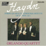 Orlando Quartet - Haydon String Quartets Op. 76: Nos. 4 & 6 CD