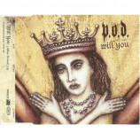 P.O.D. - Will You CD