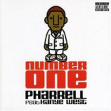 Pharrell - Number one Kanye West PROMO CDS