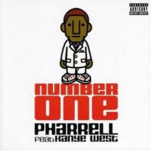 Pharrell - Number one Kanye West PROMO CDS - CD - Album