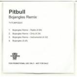 pitbull - bojangles remix ACETATE CD