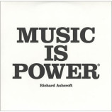 Richard Ashcroft - Music is power PROMO CDS