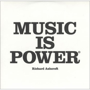 Richard Ashcroft - Music is power PROMO CDS - CD - Album