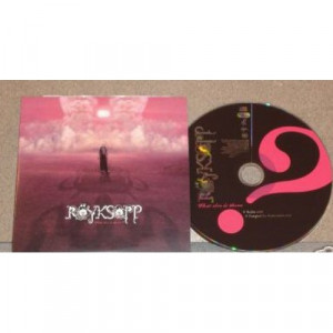 Royksopp - What else is There 1 Track euro PROMO CDS - CD - Album