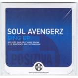 Soul Avengerz - Sing EP Angie Brown Euro CD