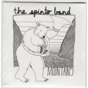 Spinto Band - Mountains 1 Tracks Euro promo CD - CD - Album