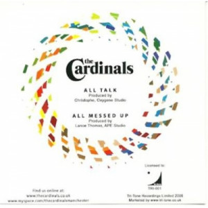 the cardinals - All talk ACETATE CD - CD - CDr