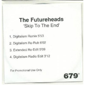 the futureheads - skip to the end ACETATE CD - CD - CDr
