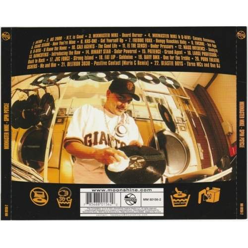 Mixmaster Mike*  -  Spin Psycle - CD - Compilation