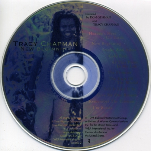 Tracy Chapman  - New Beginning - CD - Album