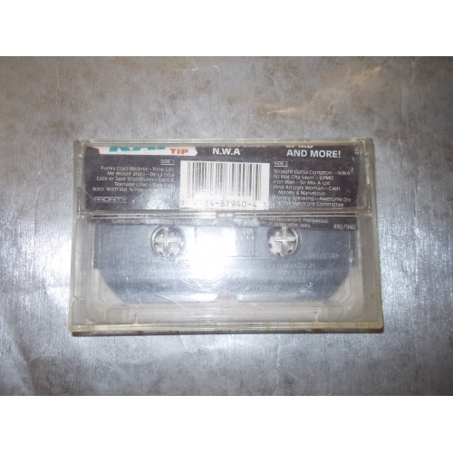 VARIOUS -  On The Rap Tip - Tape - Cassete