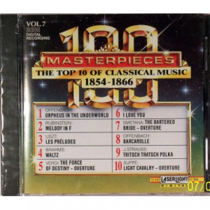 Variuos - 100 Masterpieces Vol.7 - The Top 10 Of Classical Music 1854- - CD - Compilation