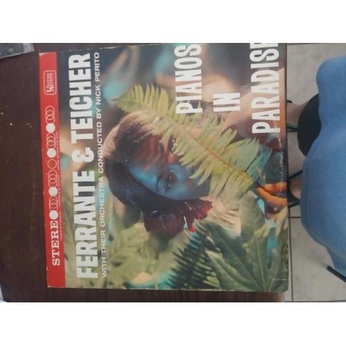 Ferrante & Teicher - Pianos in Paradise - Vinyl Record - LP