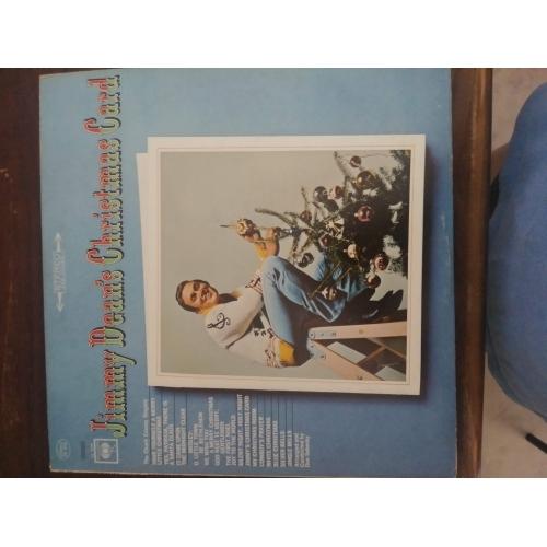 Jimmy Dean - Jimmy Dean's Christmas Card - Vinyl - LP