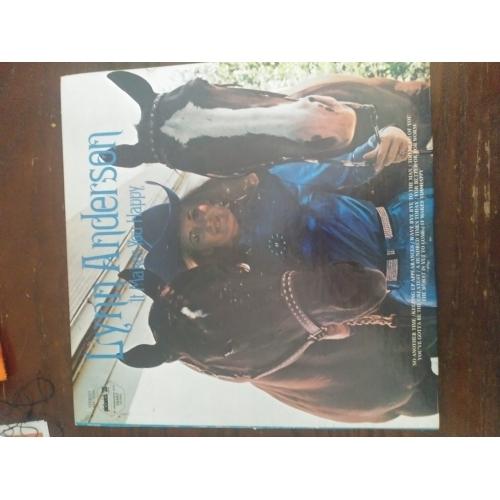 Lynn Anderson - It Makes You Happy - Vinyl Record - LP