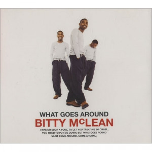 Bitty McLean ‎ - What Goes Around - Vinyl - 12""