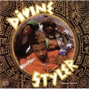 Divine Styler Featuring The Scheme Team  - Word Power  - Vinyl - LP