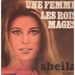 """Sheila - Les Rois Mages / Une Femme  - Vinyl - 7"""""""