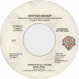 Stephen Bishop  - Unfaithfully Yours (One Love)