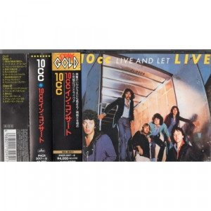 10cc - Live And Let Live  - CD - 2CD