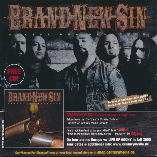 Agents Of Man, Brand New Sin - Count Your Blessings...  - CD - Compilation