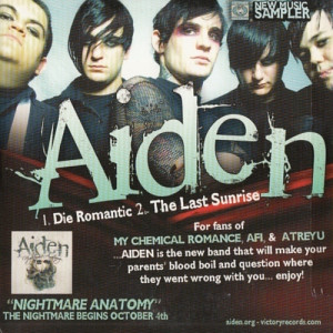Aiden - Victory Records New Music Sampler - CD - Compilation