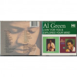 Al Green - Livin' For You & Explores Your Mind