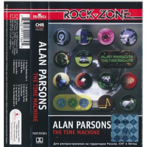 Alan Parsons - The Time Machine - Tape - Cassete