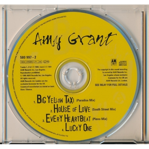 Amy Grant - Big Yellow Taxi  - CD - Single