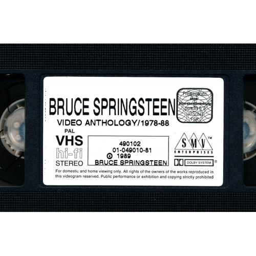 Bruce Springsteen - Video Anthology / 1978-88  - VHS - VHS