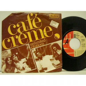 Café Crème - Unlimited Citations - Vinyl - 7""