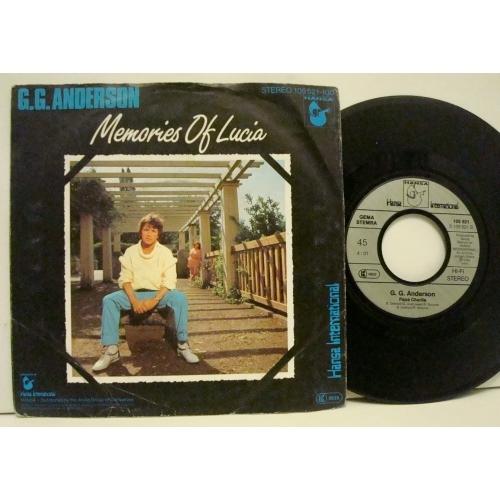"G.G. Anderson - Memories Of Lucia  - Vinyl - 7"""