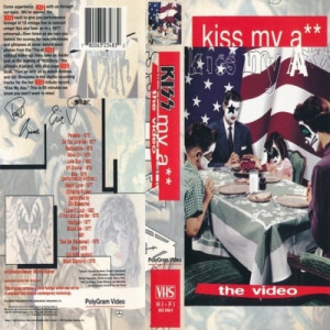 Kiss - Kiss My A** (The Video)  - VHS - VHS