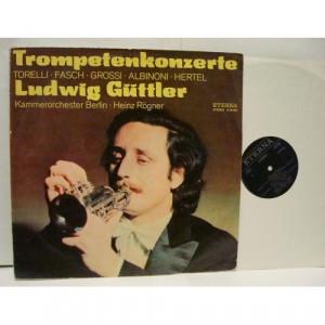 Ludwig Guttler - Trompetenkonzerte - Vinyl - LP