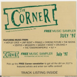 Motly Crue, Megadeth - The Corner music sampler July 1997
