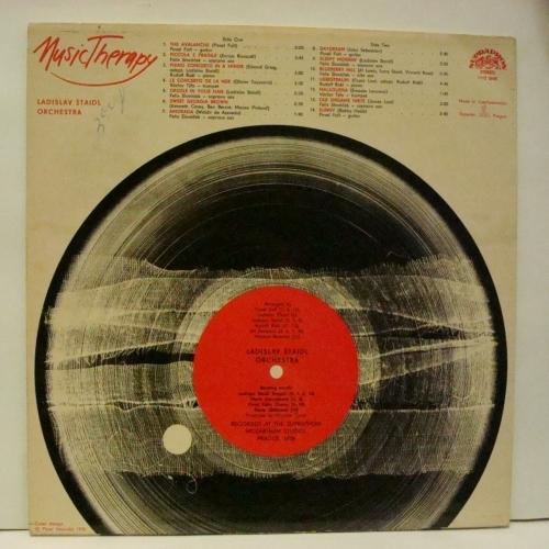 Orchestra Ladislav Staidl - Music Therapy  - Vinyl - LP