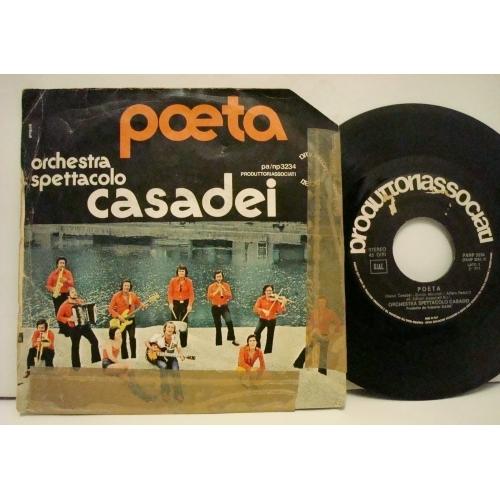 """Orchestra Spettacolo Raoul Casadei - Simpatia  - Vinyl - 7"""""""