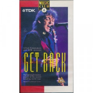 Paul McCartney - Get Back - VHS - VHS